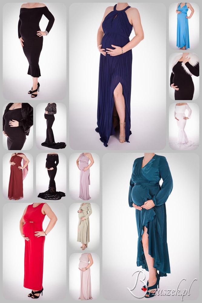 Przykłady dostępnych u nas sukni ciążowych